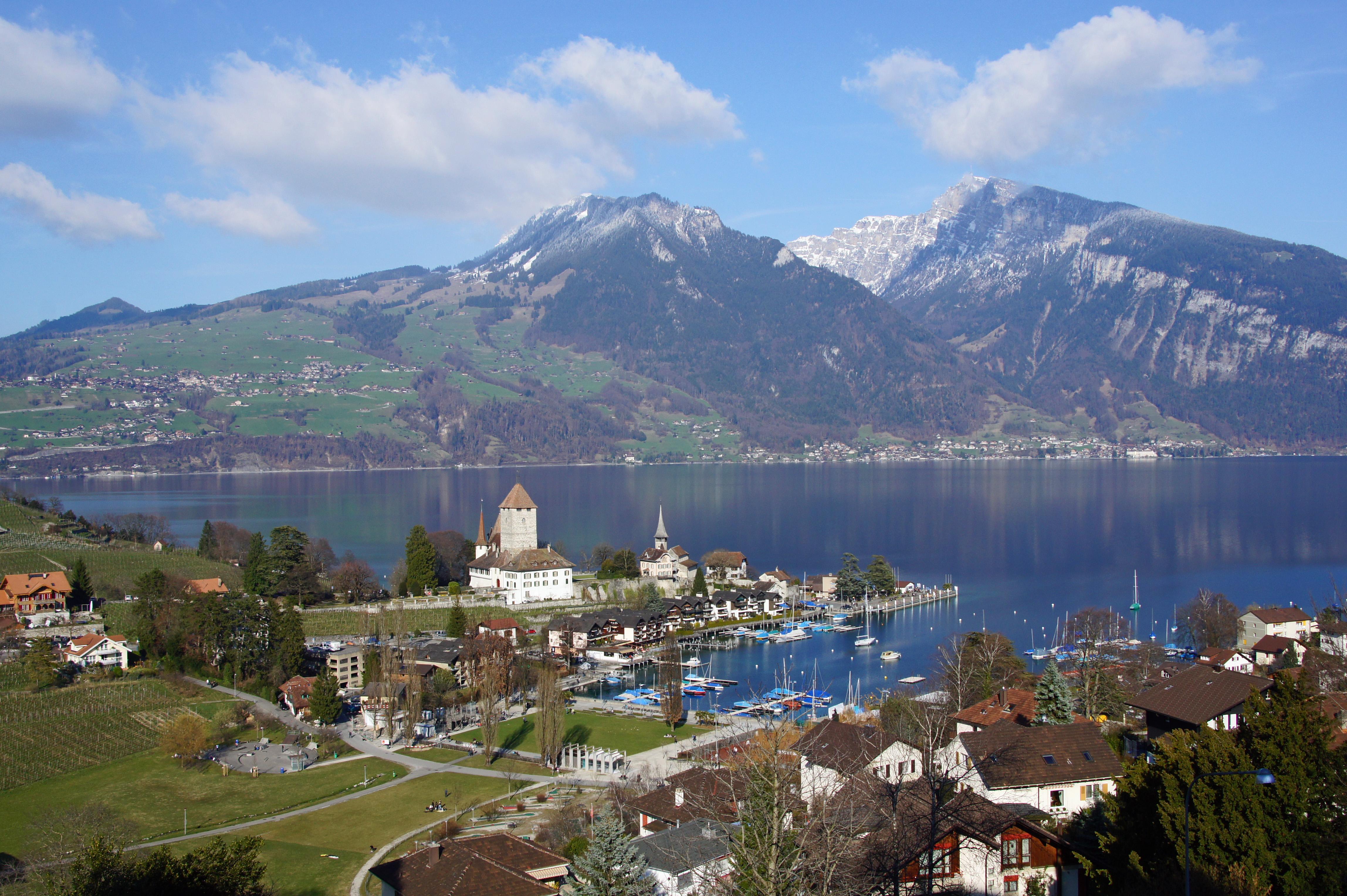 Spiez Switzerland  city photos gallery : Spiez im Jahr 2011