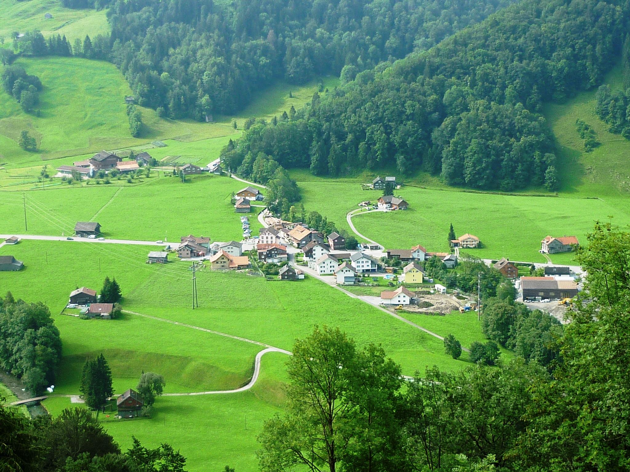 Starkenbach - Ortsteil von Alt St. Johann