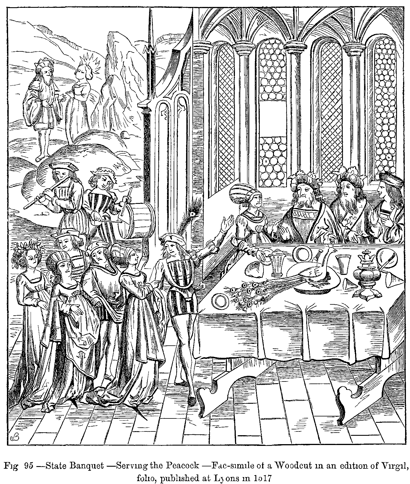 medieval feast coloring pages - photo#15