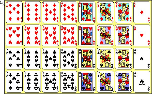 wie viele karten hat ein kartenspiel