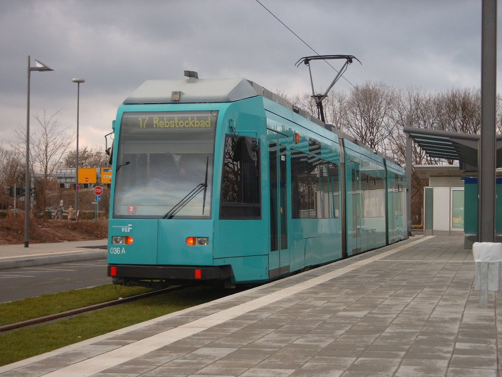 Straßenbahn 14 Frankfurt
