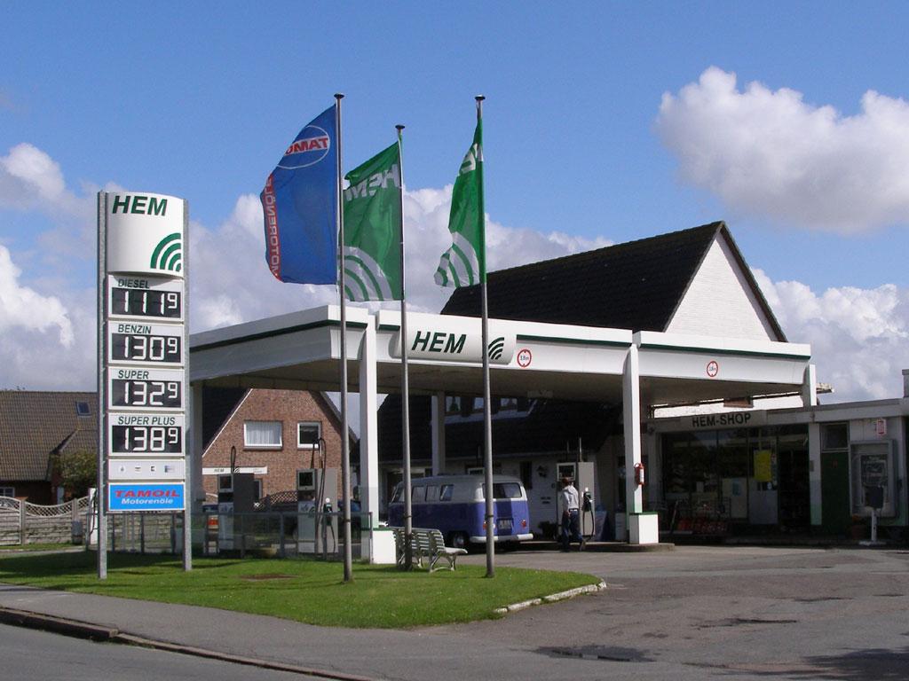Hem Tankstelle Herne