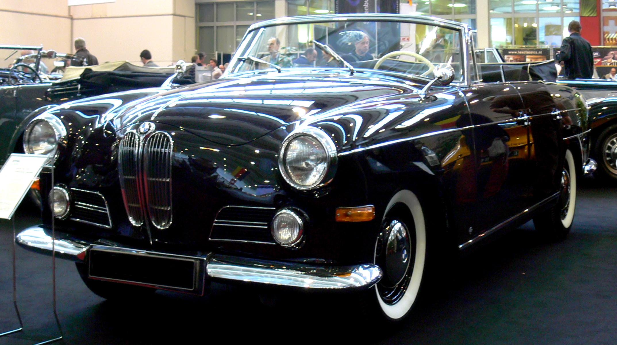 bmw 502 cabriolet v8