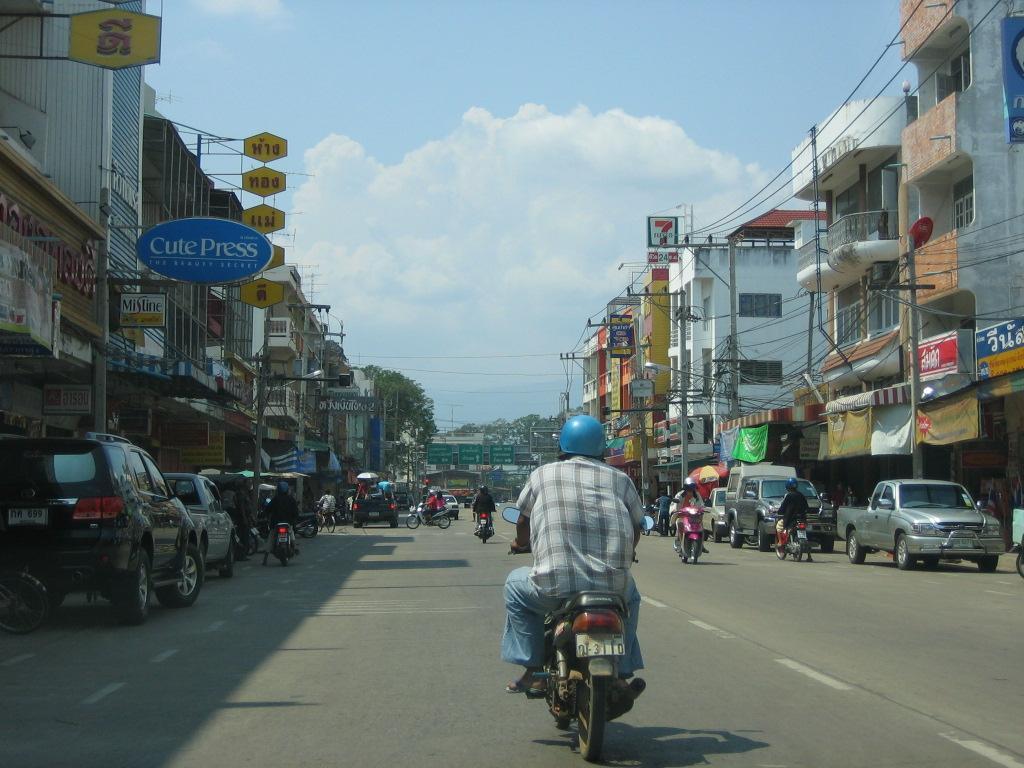 Phetchabun Thailand  city images : Straßenszene in Phetchabun