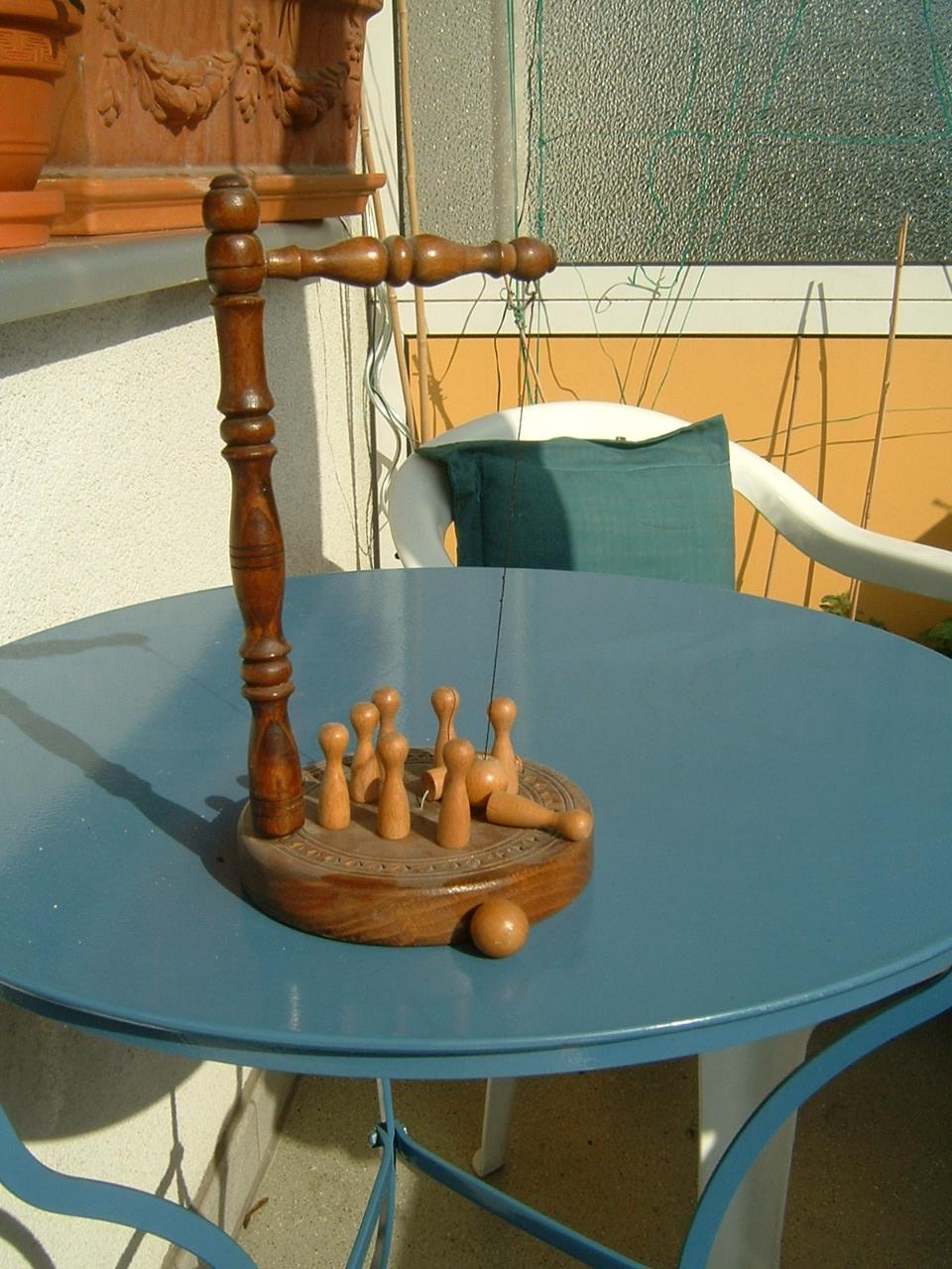 Tischkegelspiel Selber Bauen