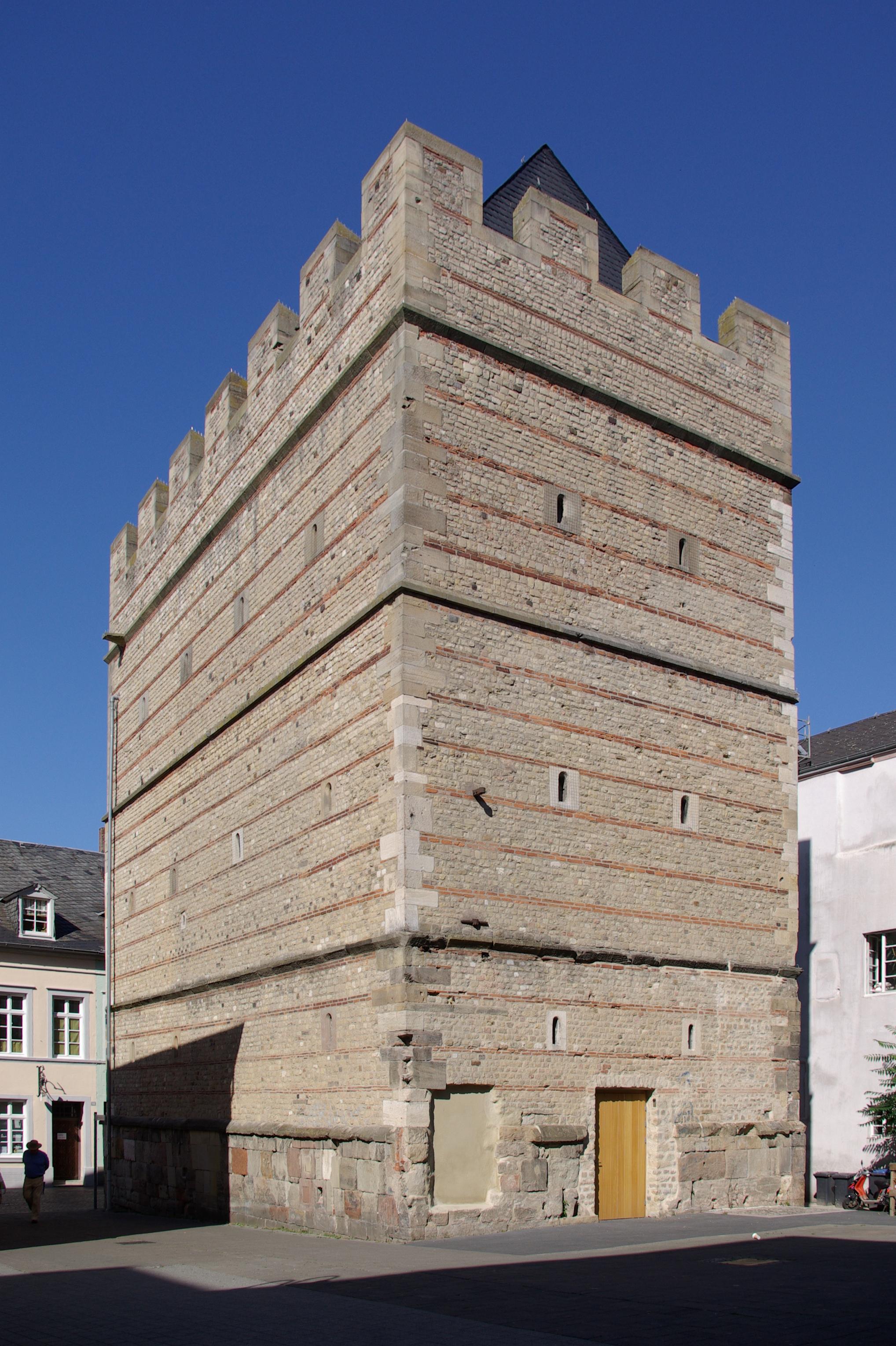 frankenturm in trier mit - photo #1