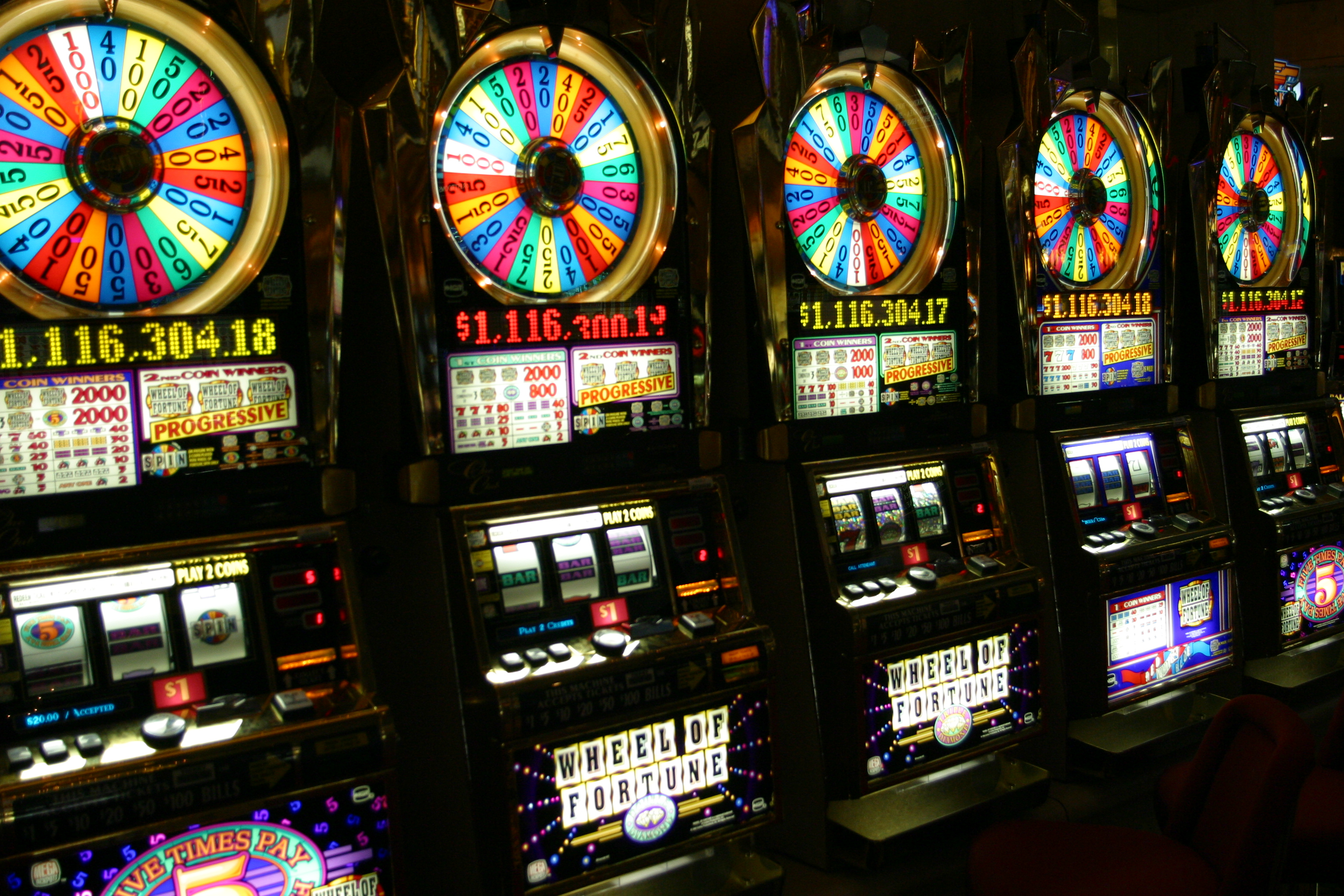 Slot Machine - der Moderne einarmige Bandit