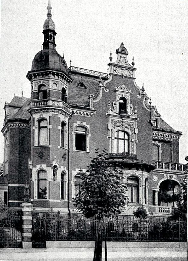 Villa Rehwold, Leipzig. Architektur, Architekt, Villa