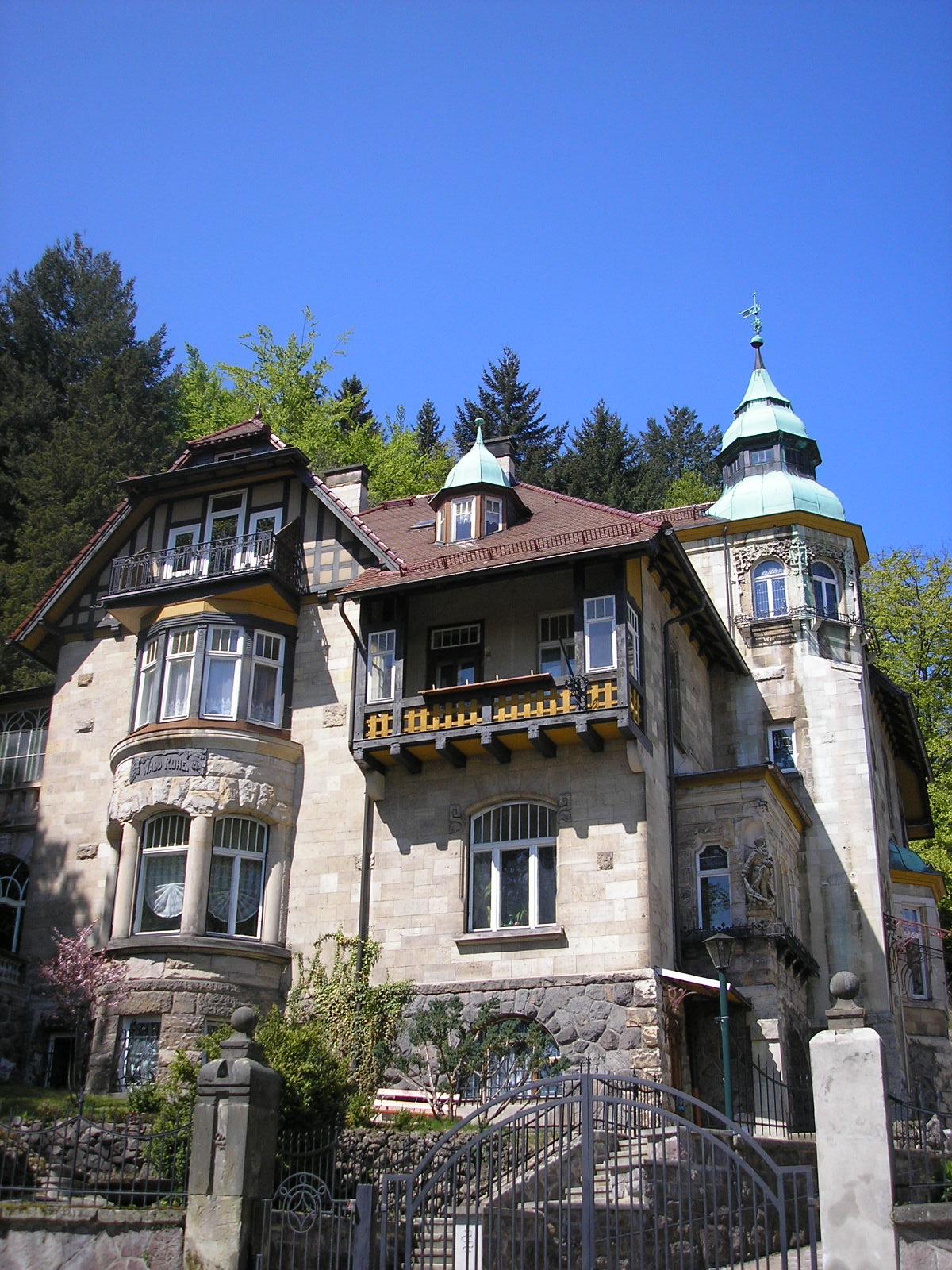 Villa for Moderne villen deutschland