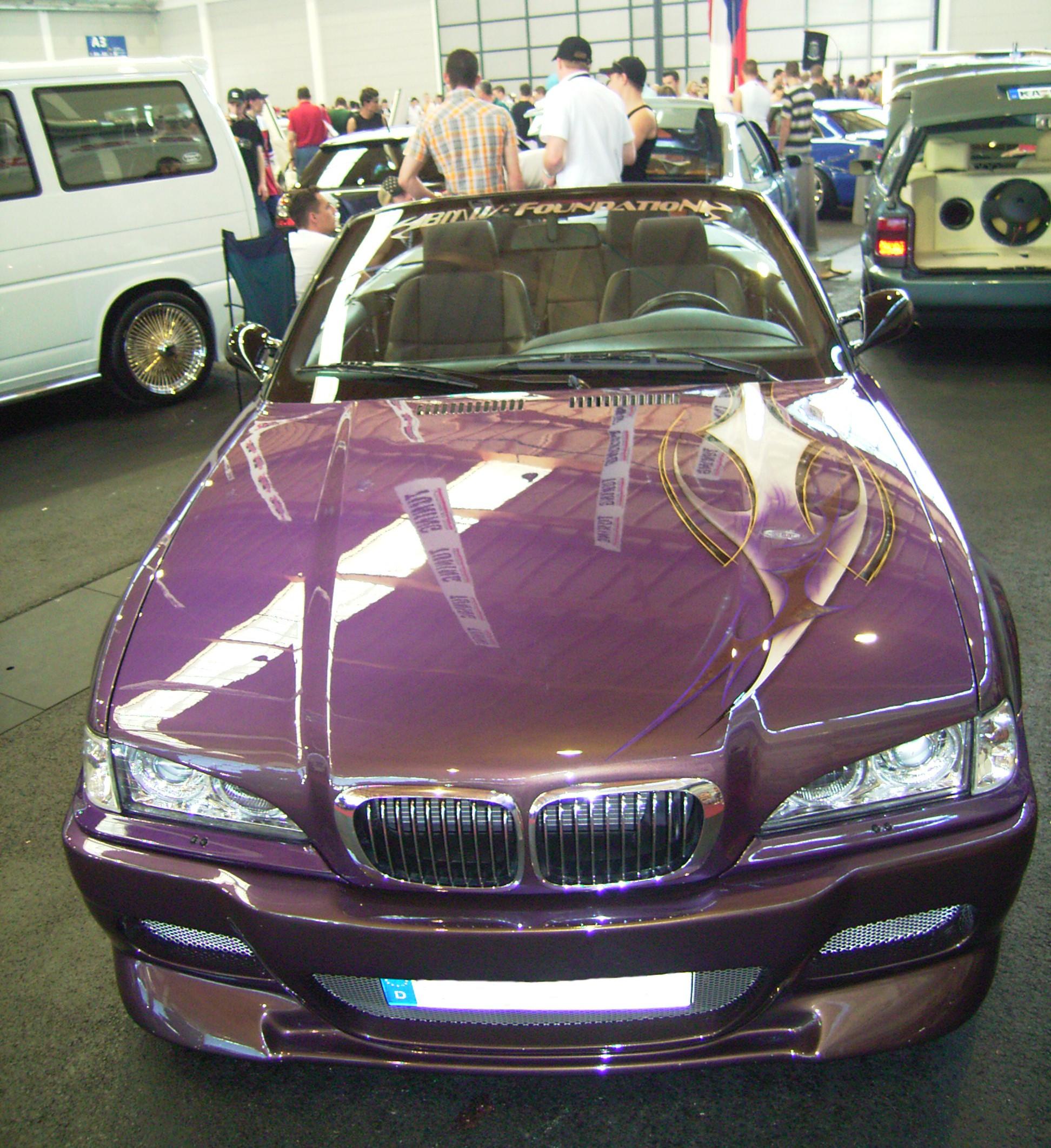 BMW mit Bösem Blick