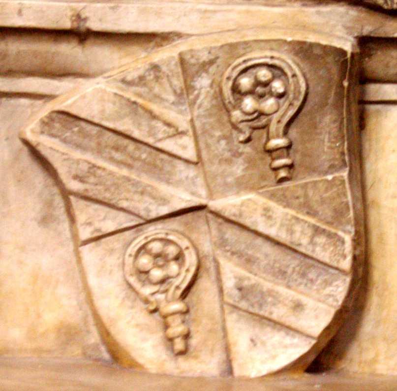 Des fürstbischofs moritz von hutten auf dem hohenrechberg epitaph