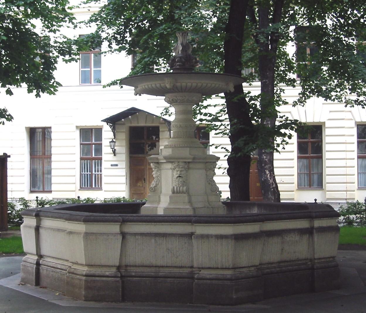 Villa Salzburg Dresden Wohndesign: Delphinbrunnen