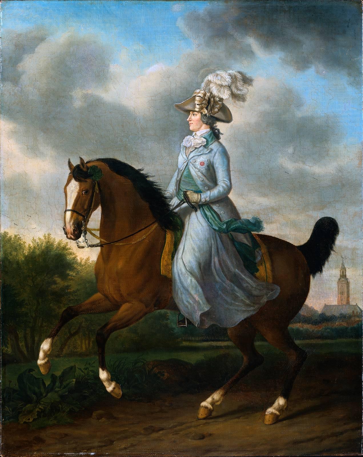 Zelter Pferd : Damensattel