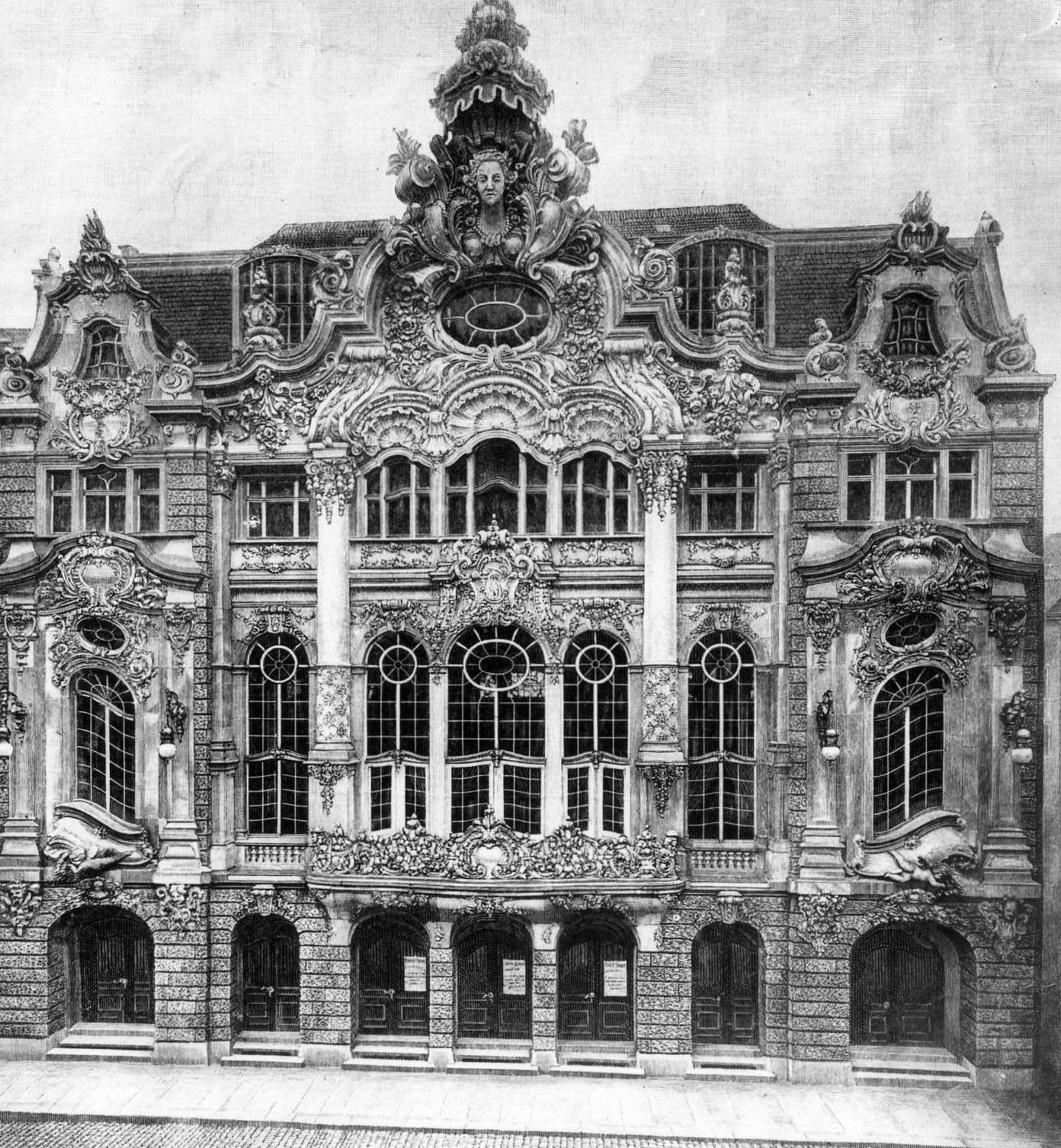 Architektur in dresden for Innendekoration 1915
