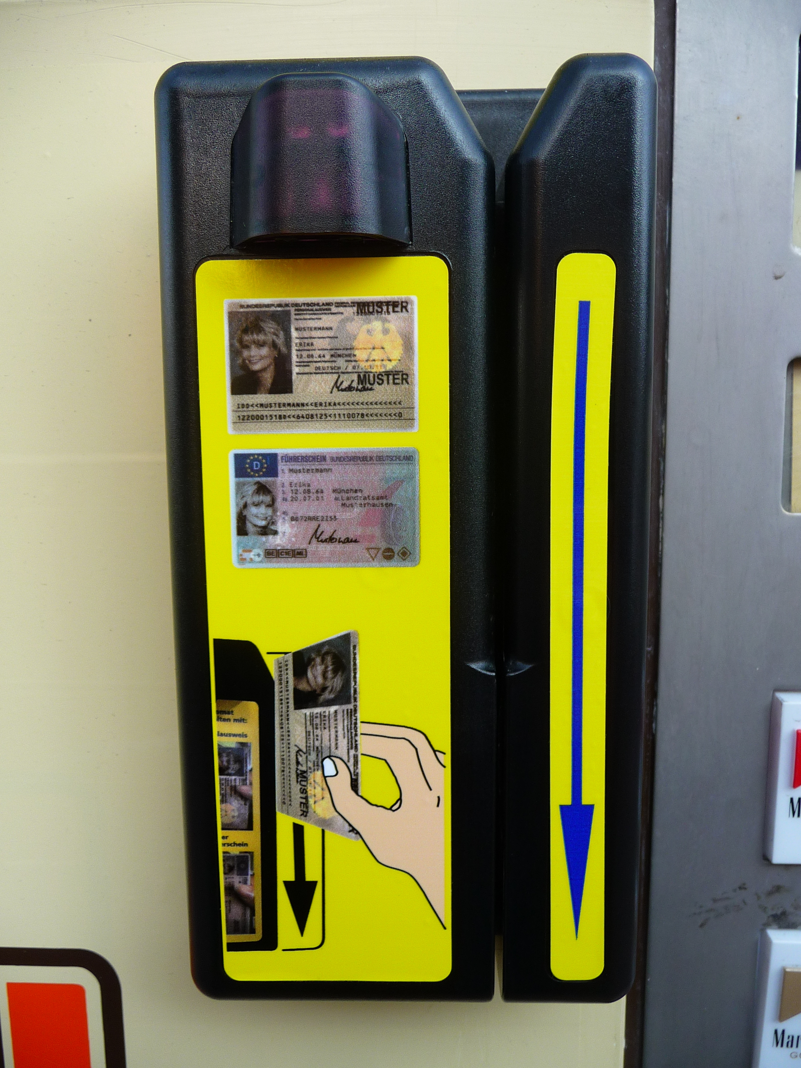zigarettenautomat finden