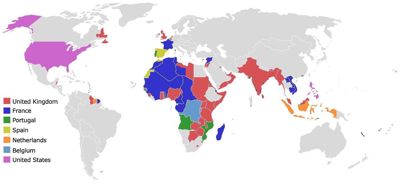 Europäische Kolonien