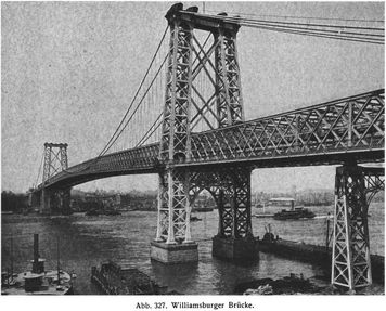 Abb. 327. Williamsburger Brücke.