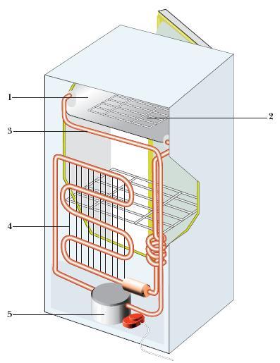 Устройство холодильников