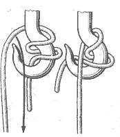 Гачный узел со шлагом :: Книга морских узлов Л.Н. Скрягин на...